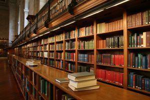 library-interor